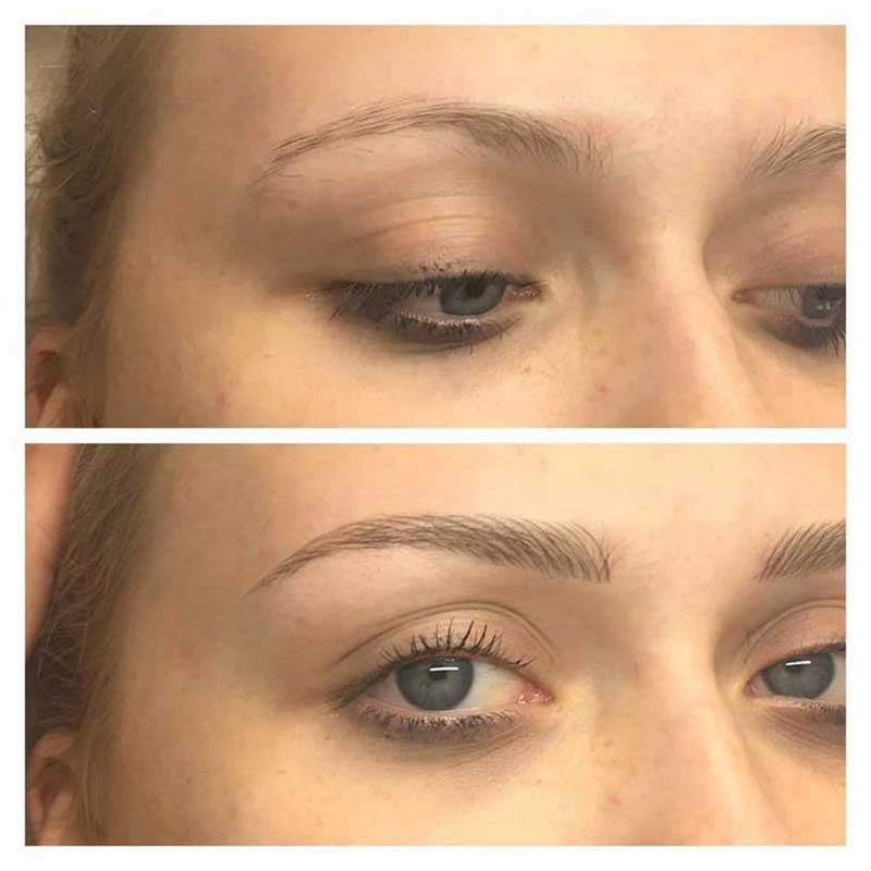 All About Mien Brows Eyebrow Feathering Microblading Amp Eyebrow