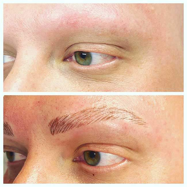 Eyebrow Feathering Microblading Eyebrow Tattoo Melbourne Mien